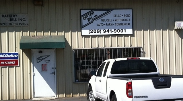 Battery Bill, Inc. Battery Store Stockton CA